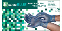picture of box of powder-free vinyl gloves