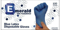picture of box of powdered latex gloves