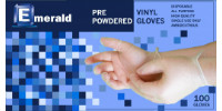 picture of box of powdered vinyl gloves