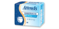 picture of package of premium Attends underware