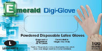 picture of box of Digi-Glove powdered latex gloves