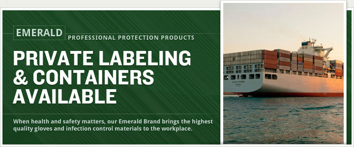 image of container and private label banner