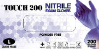 picture of box of nitrile gloves