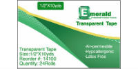 image of box of Emerald transparent tape