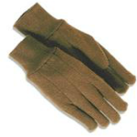 picture of unlined brown jersey gloves