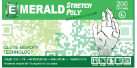 picture of box of stretch poly gloves