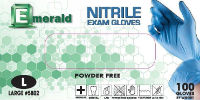 picture of box of pwder-free nitrile exam gloves